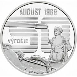 Nenásilný odpor občanov proti vstupu vojsk Varšavskej zmluvy v auguste 1968 - BK (2018)