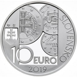 10. výročie zavedenia eura v Slovenskej republike - Proof (2019)