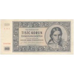 1000 Kčs 1945